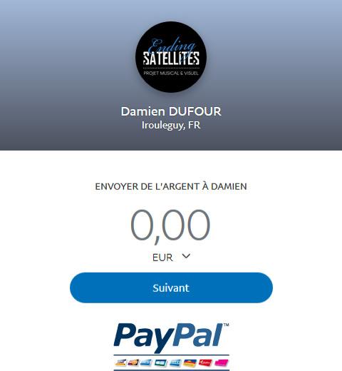 Don à Ending Satellites via Paypal