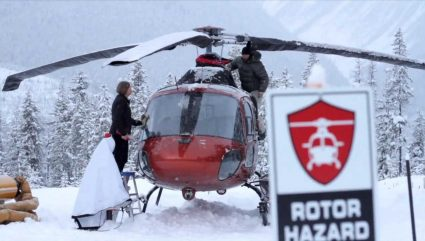 Ending Satellites et The great canadian heli-skiing